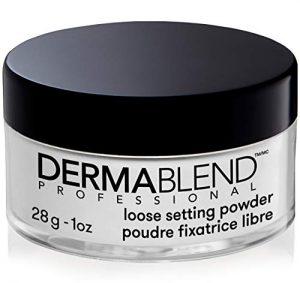 dermablend loose setting powder translucent powder for face makeup