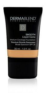 dermablend smooth liquid foundation with spf 25 30n camel 1 fl oz