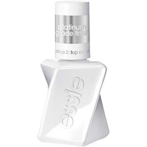 essie gel couture platinum grade finish top coat 046 ounces packaging may