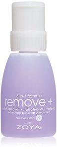zoya remove plus 3 in 1 formula polish remover nail cleaner nail prep 8