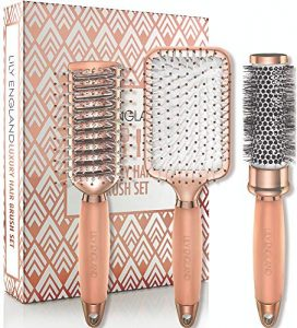 hair brush set luxury professional hairbrush gift set by lily england for