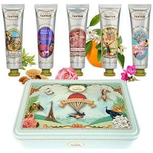 hand care gift set 5 hand cream for women in a lovely tin box 5 perfume