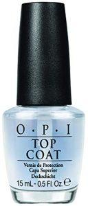opi nail polish top coat protective high gloss shine 05 fl oz